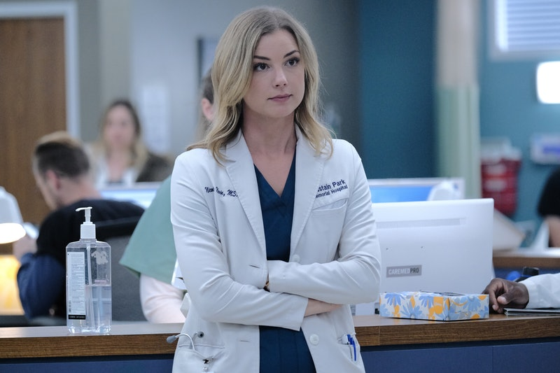 Emily VanCamp on The Resident