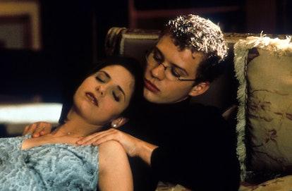 Sarah Michelle Gellar & Ryan Phillippe in 'Cruel Intentions', 1999