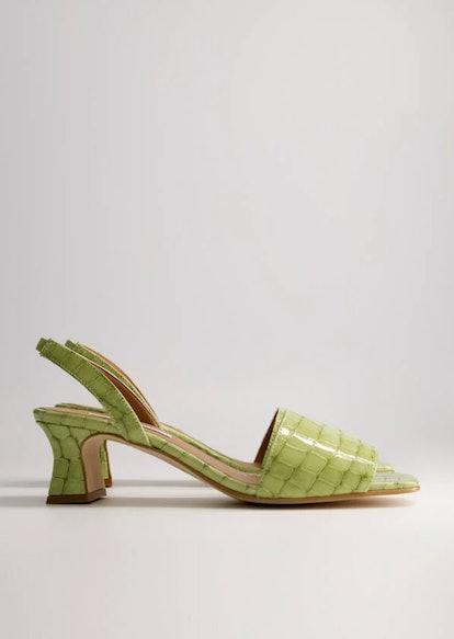 Joan Slingback Sandal