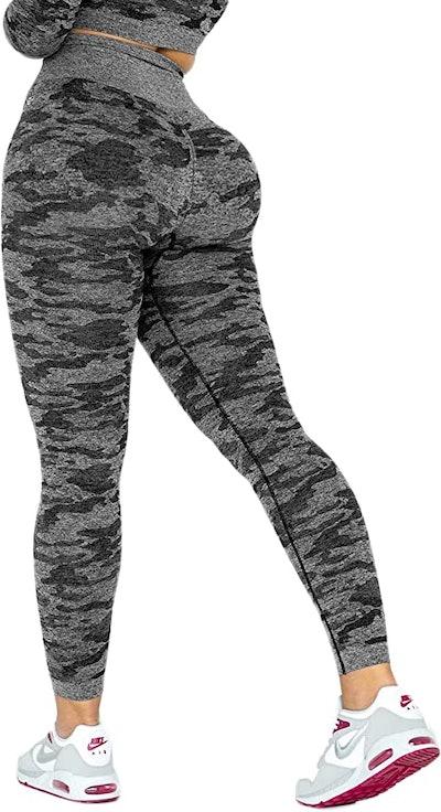 Seasum Seamless Compression Workout Legging