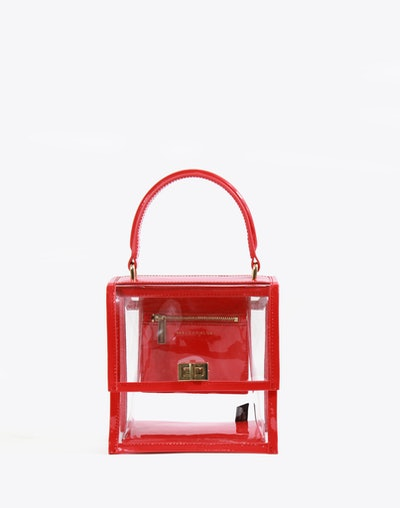Neely and Chloe No. 19 The Mini Lady Bag PVC