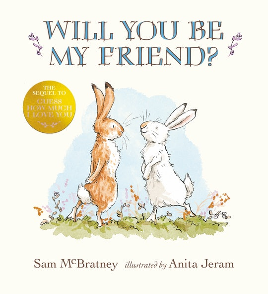 'Will You Be My Friend' is the highly-anticipated sequel to the beloved book 'Guess How Much I Love You.'