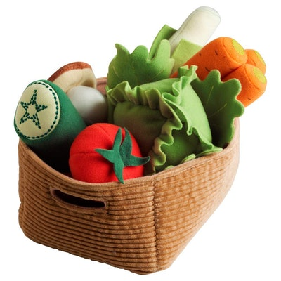Duktig 14-Piece Felt Vegetable Set