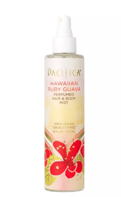 Hawaiian Ruby Guava by Pacifica Perfumed Hair & Body Mist Women's Body Spray