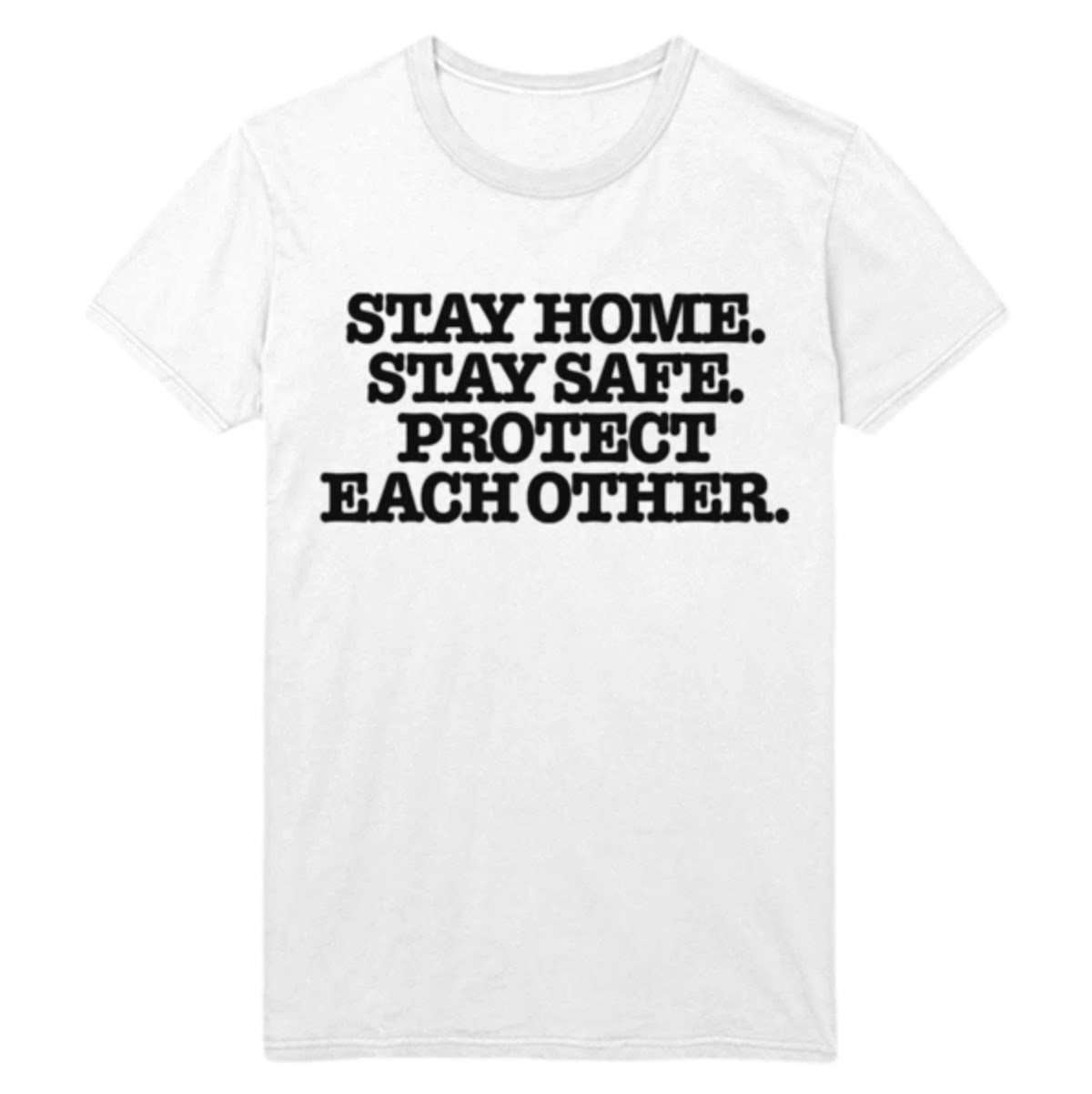 Harry Styles Stay Home Stay Safe Tee