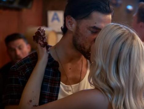 'Vanderpump Rules' stars Brett and Dayna kissing.