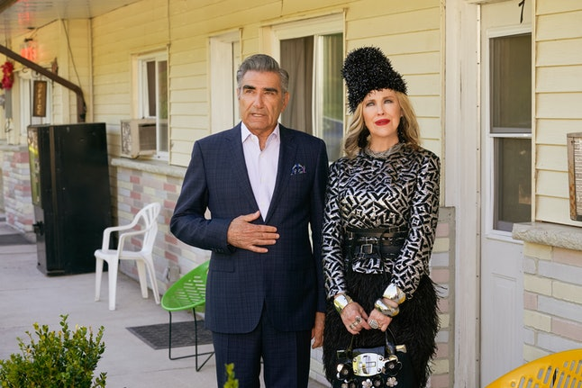 Johnny (Eugene Levy) and Moira (Catherine O'Hara) in 'Schitt's Creek' Season 6