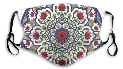 Moroccan Print Face Covering