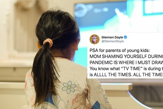 Glennon Doyle wants parents to give themselves a break about letting their kids watch a lot of TV wh...