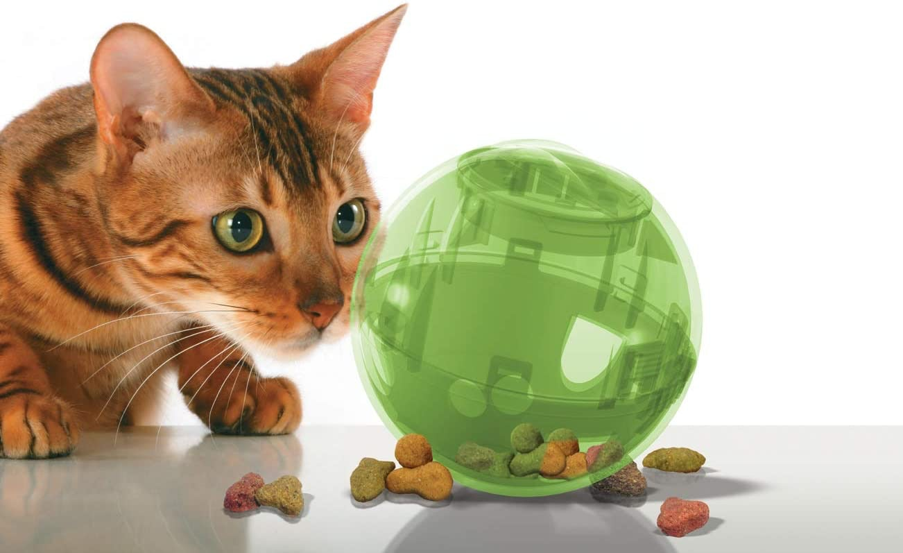 Funny Multi Vet Interactive Cat Toy Kitty Kitten Slim Cat Feeder Ball Toys Pet Supplies Cat Supplies