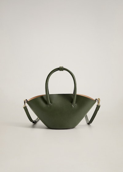 Mango Double Strap Mini Basket Bag