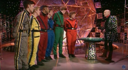 A still from The Crystal Maze