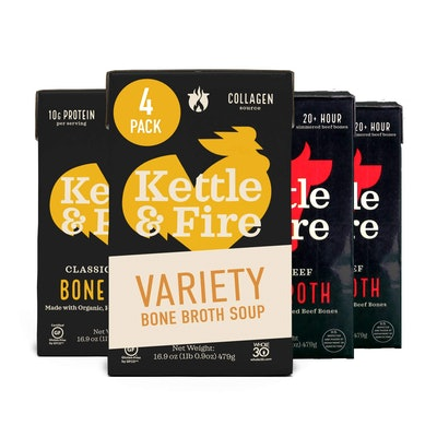 Kettle & Fire Bone Broth Variety Pack