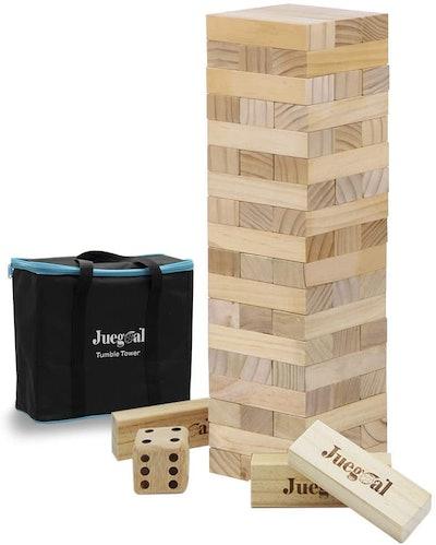 Juegoal 54-Piece Giant Tumble Tower