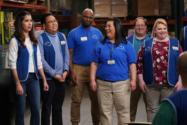 The cast of Superstore