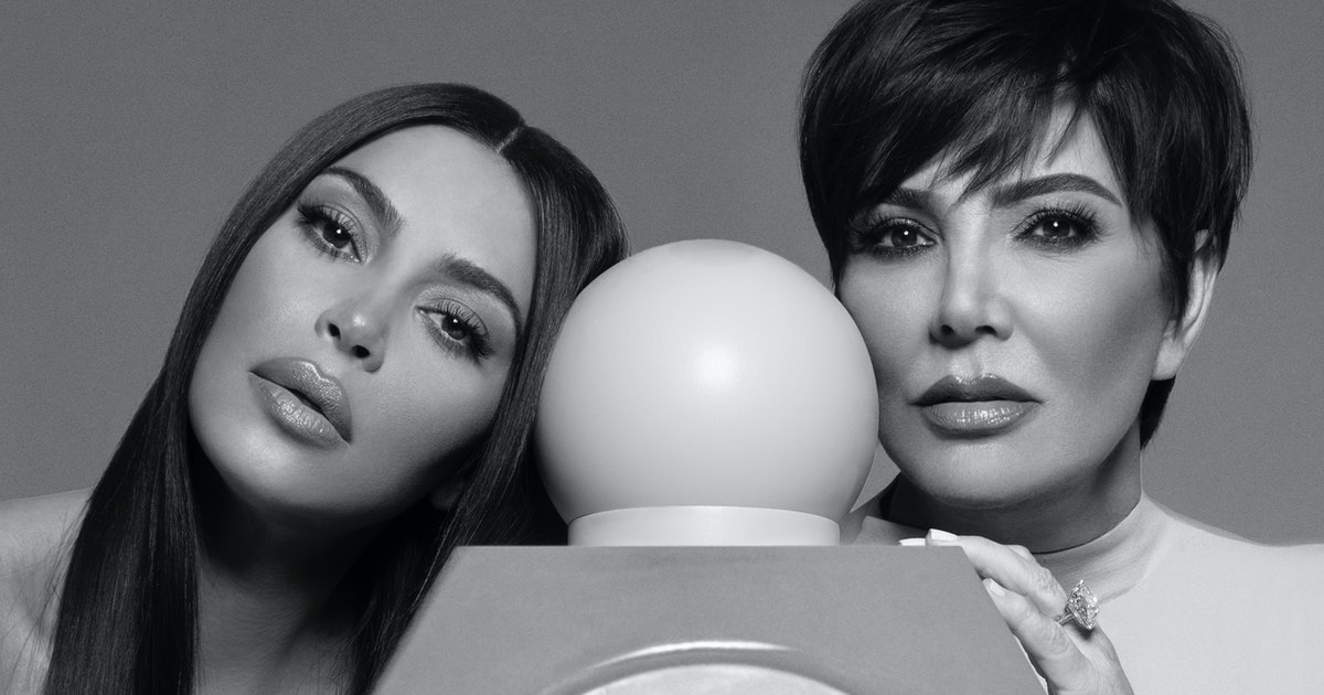 Kim Kardashian Is Launching Her First Fragrance Collab With Kris Jenner Just In Time For Mother's Day