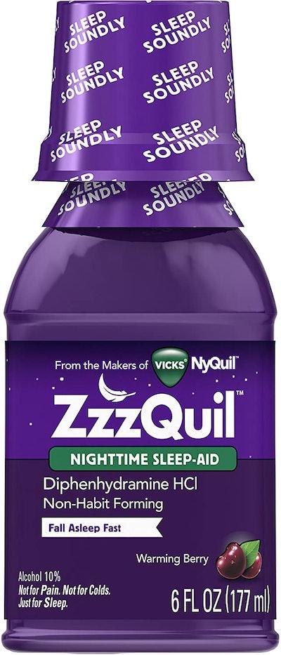 ZzzQuil Nighttime Sleep Aid (6 Fl. Ounces)