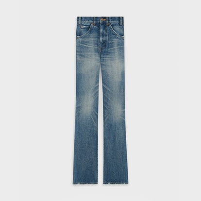 Flared Jeans In Union Wash Denim
