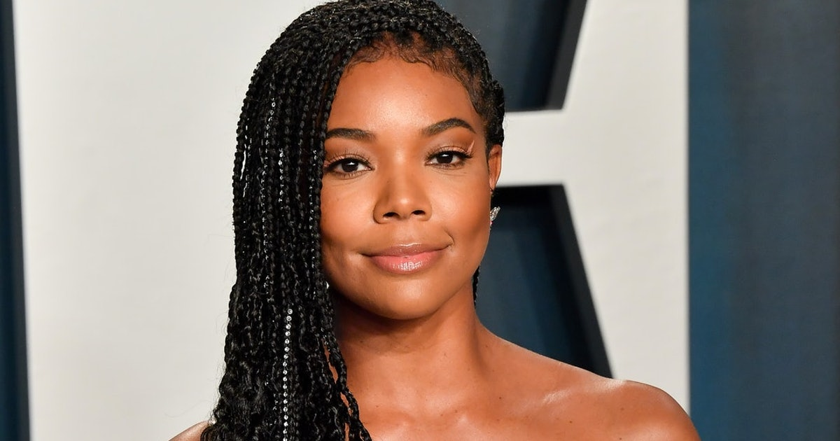 Gabrielle Union Showed Off Her Natural Curls — & Hinted At Potential New Hair Products