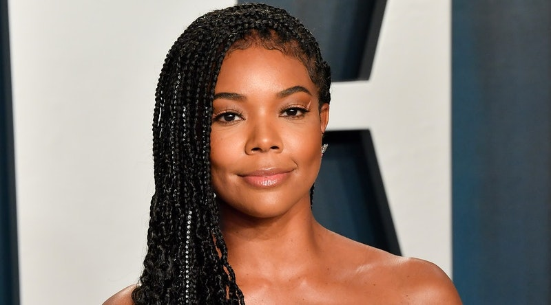 Gabrielle Union's natural curls shine on Instagram.