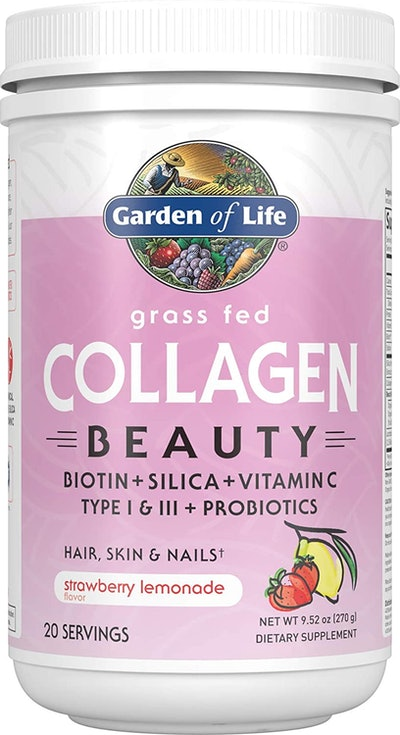 Garden of Life Grass Fed Collagen Protein Beauty