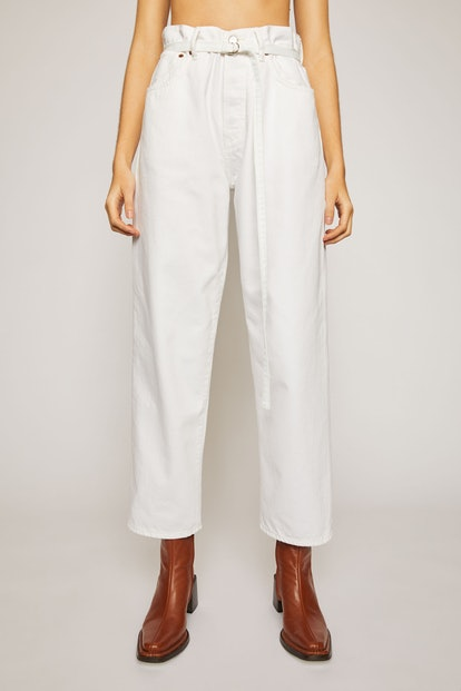 Loose Fit Jeans White