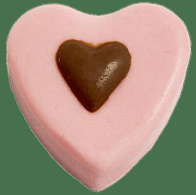 Chocolate Therapy Massage Heart