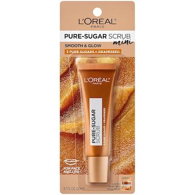 L'Oreal Paris Pure Sugar Scrub for Face & Lips