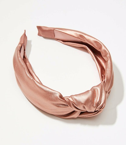 Loft Shimmer Top Knot Headband