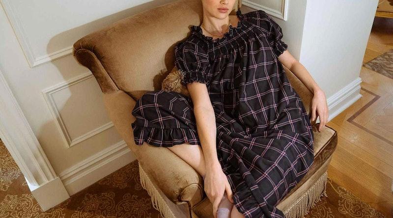 Plaid Nightgown