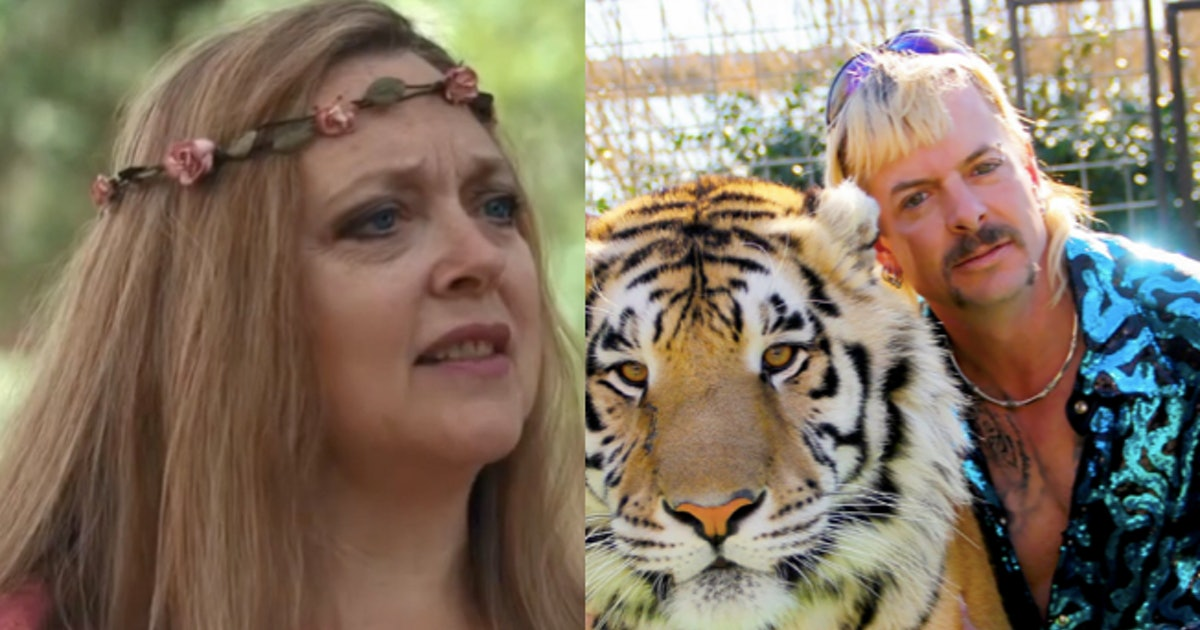 OMG, Another Docuseries About Joe Exotic & Carole Baskin Is Coming