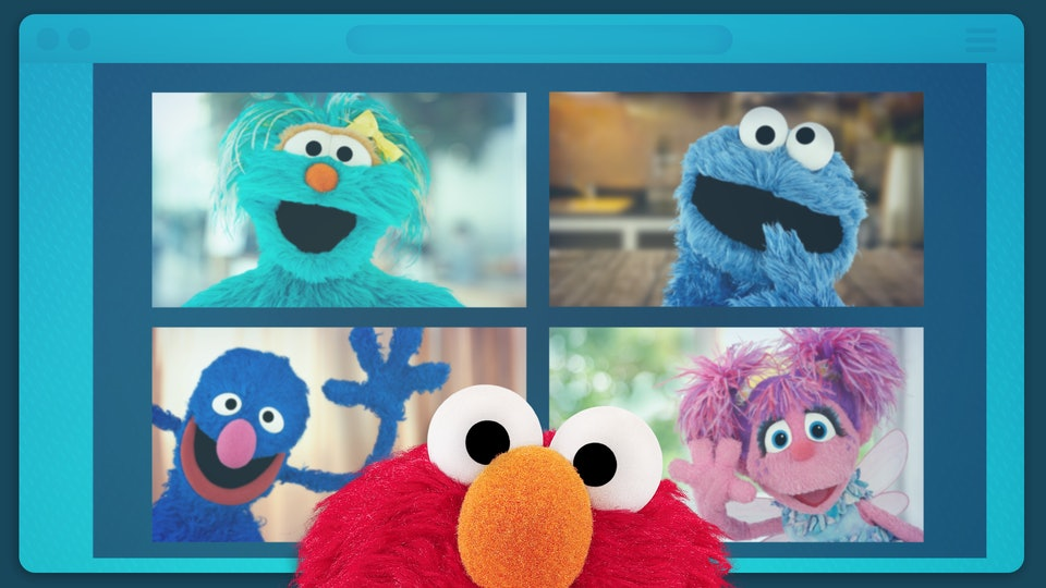 A new 'Sesame Street' special featuring Elmo having a virtual playdate with different celebrities will air on Tuesday, April 14.