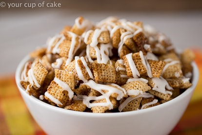Chex Mix a great sweet treat that uses no flour.