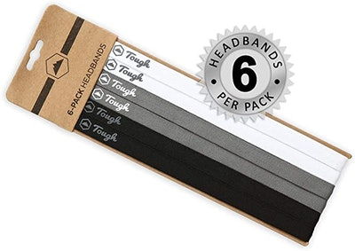 Tough Athletic Sports Headbands (6-Pack)