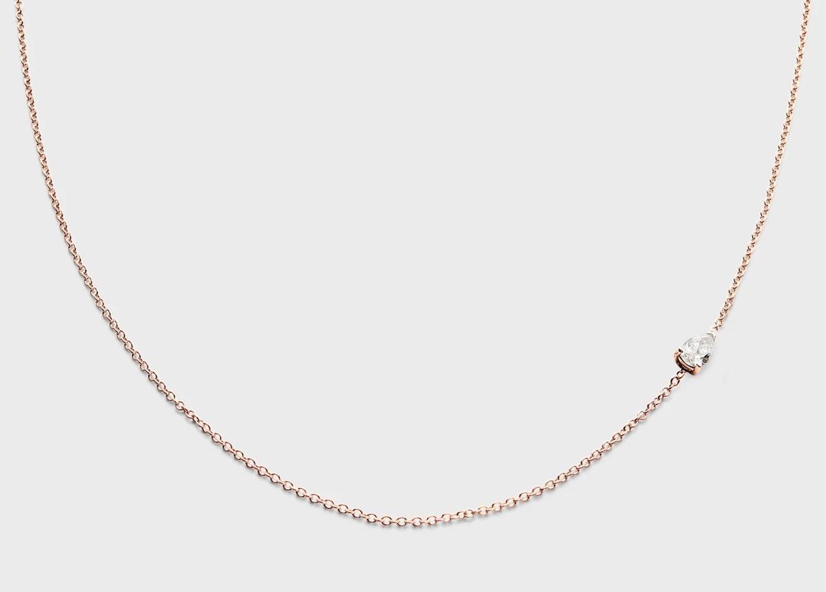 Petite Pear Necklace