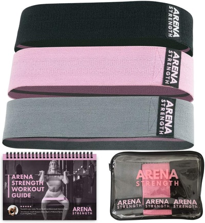 Arena Strength Fabric Booty Bands (3-Pack)