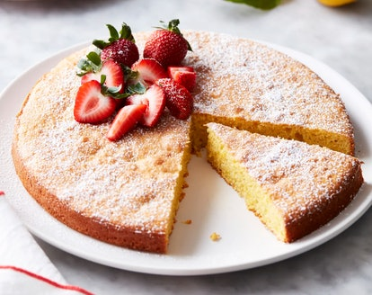 This flourless lemon almond cake shows how you can bake dessert without flour.