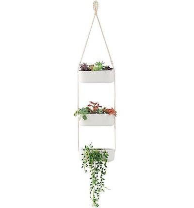 Mkono Ceramic Hanging Planter