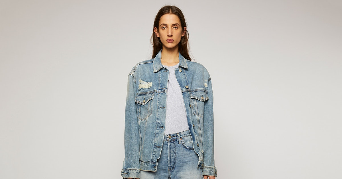 Acne Studios' Newest Denim Drop Is What '90s Style Dreams Ae Made Of
