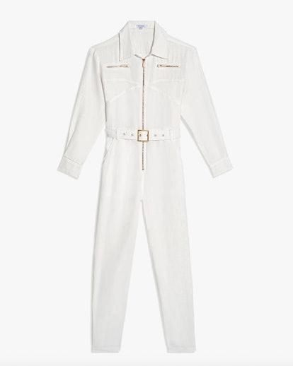 Utility Linen Jumpsuit