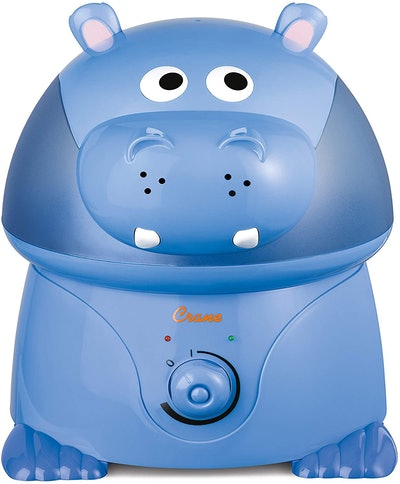 Crane Filter-Free Hippo Cool Mist Humidifier