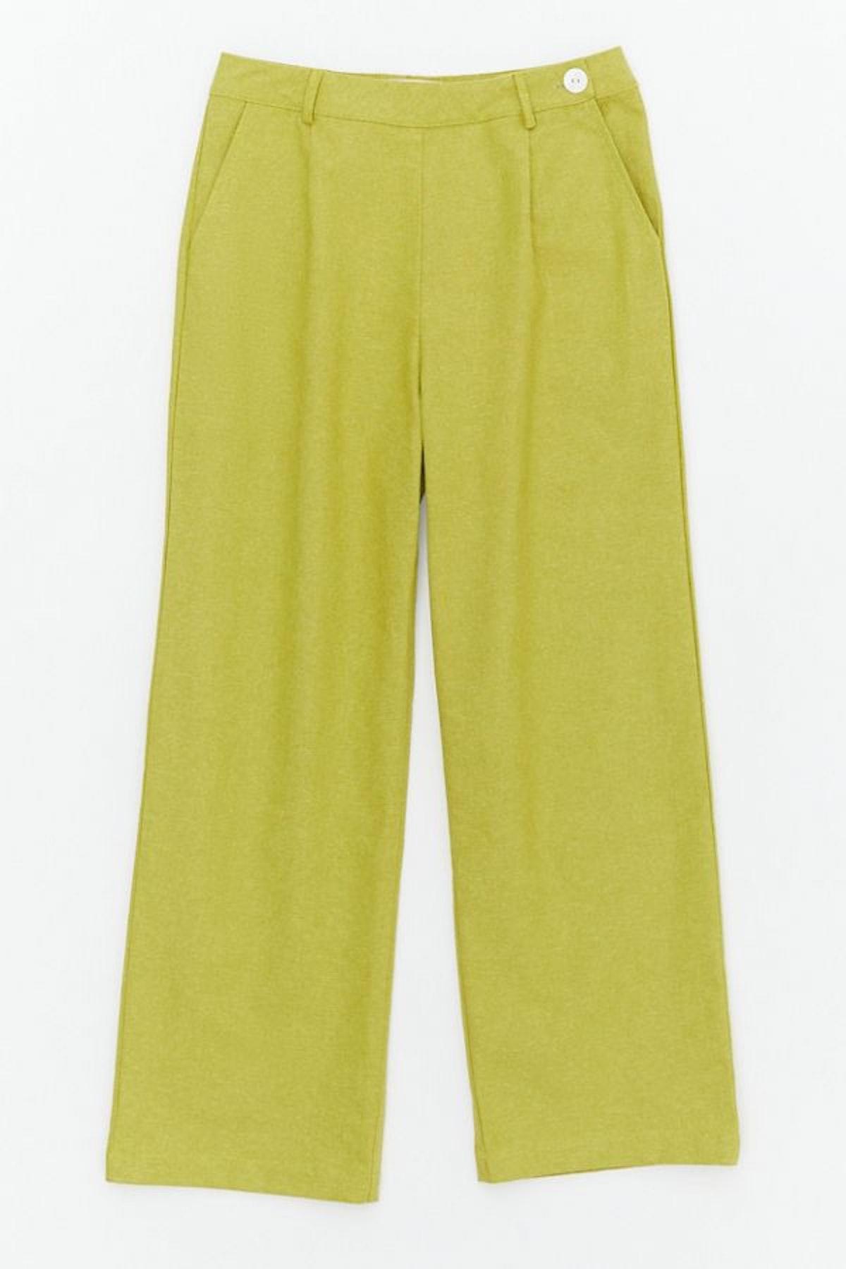 Lisa Says Gah Melinda Linen Trouser Pant