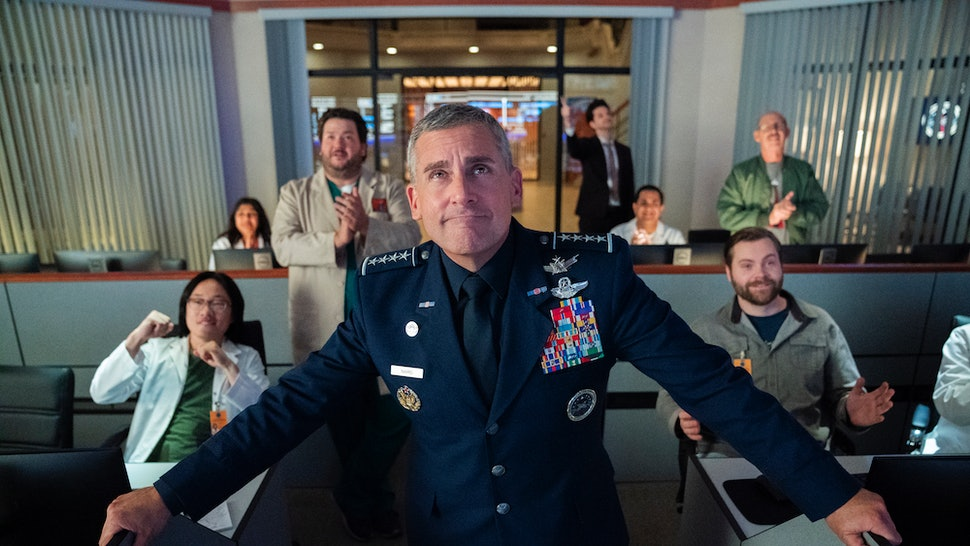 Netflix's 'Space Force' Starring Steve Carell Finally Has A Premiere Date