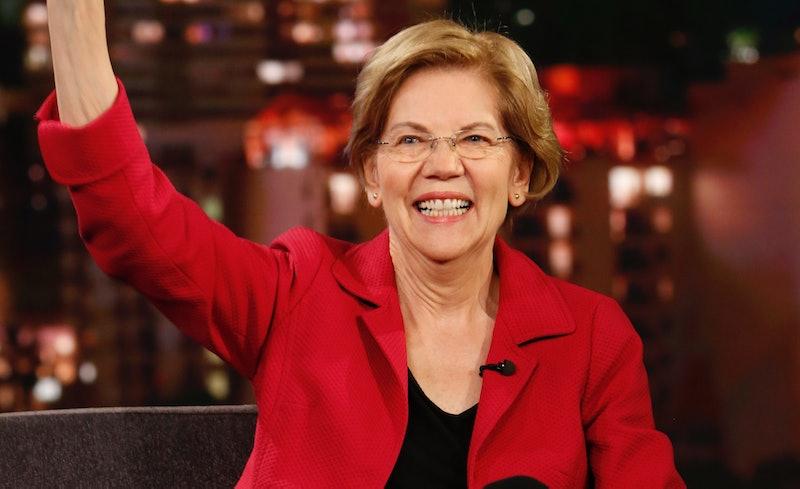 Elizabeth Warren, The Rock Superfan, Has A Quarantine Movie Suggestion