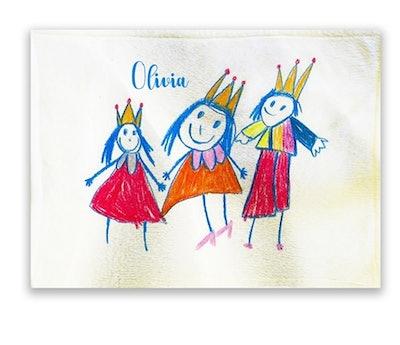 Children's Artwork Blanket