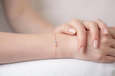 Personalized Family Birthstone Bracelet