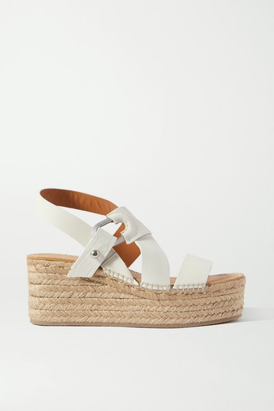 Rag & Bone August Leather Espadrille Platform Sandals