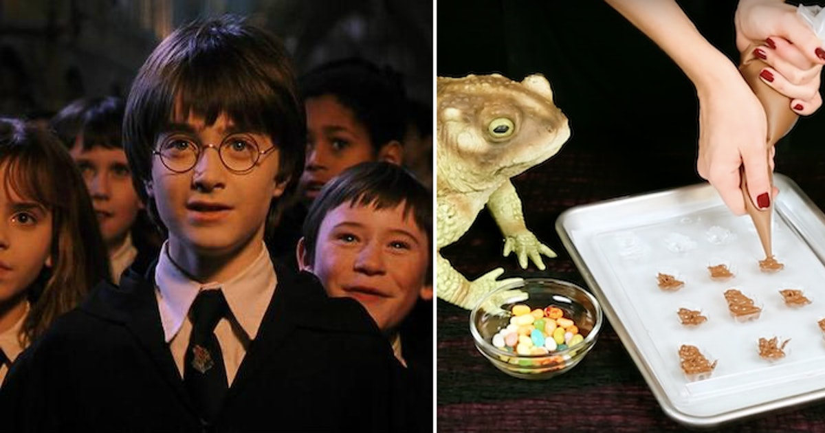 Make These Treats From 'Harry Potter' At Home & Taste Chocolate Frogs IRL