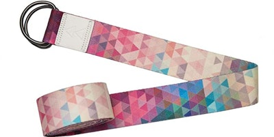 YOGA DESIGN LAB Eco Printed Yoga Strap