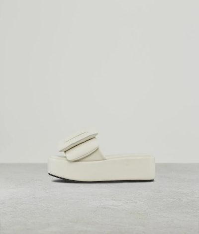 Puffy Sandal Platform Gris